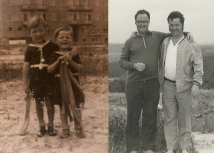 Paul en Henk de Wit - 1939 en 1971